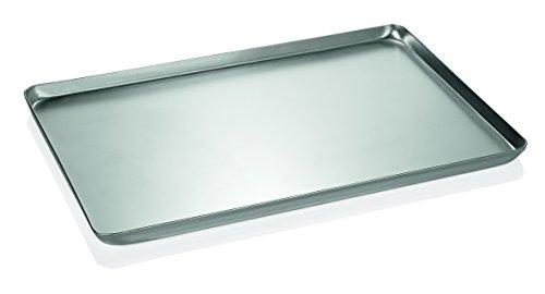 Backblech/Ausstellblech aus Aluminium - gebeizt, Rand umgelegt, nahtlos gezogen / A1 - Abmessung: 40 x 25 x 2 cm / A2-48 x 32 x 2 cm / A3-60 x 40 x 2 cm...