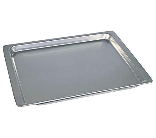 Backblech für Backofen 465 x 375 x 25 mm Aluminium Bosch Siemens 00438155 438155