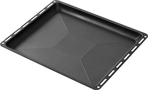 ICQN Antihaft-Beschichtung Non-Stick Backblech | Passend für Bosch Siemens Neff Constructa Profilo Backofen | Blech | Kuchenblech | Emaille-Boden | 455 x 377 x...