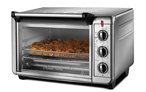 Russell Hobbs Minibackofen Express Airfry 5-in-1: Heißluftfritteuse, Backofen, Grill, Toaster, Warmhaltefunktion (22,8l, Pizza Ø 30cm,...