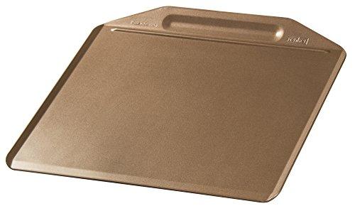 Zenker Backblech randlos MOJAVE GOLD, Backform aus Stahlblech, Kuchenblech mit keramisch verstärkter Antihaftbeschichtung (Farbe: Mahagoni/Gold), Menge: 1...