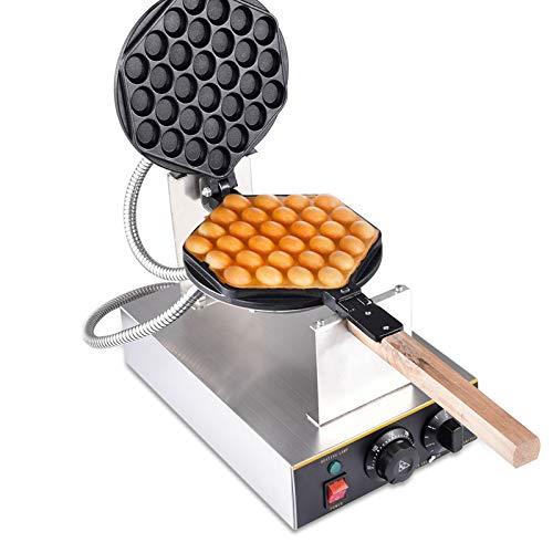 Bubble Waffeleisen EiWaffle Maker Commercial Hong Kong Eggettes Waffle Baker Geschäftsmaschine Waffelmaschine Antihaftbeschichtet 0-250℃ Gusseisen