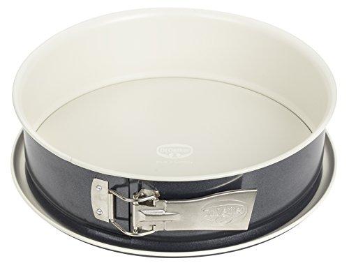 Dr. Oetker Spring-/Kuchen-/Backform, Ø 28 cm Back-Trend, mit Flachboden, runde, aus Stahl mit keramisch verstärkter Antihaft-Beschichtung, Menge: 1 Stück,...