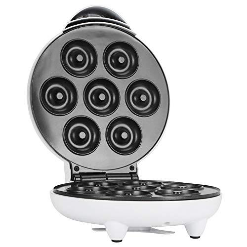 Mini Donut Maker Maschine, 1200 W Antihaft-Maschine für 7 Donuts Elektrischer Donut Maker, Langlebig Modische Haushalts-Frühstücksmaschine Küchengerät für...