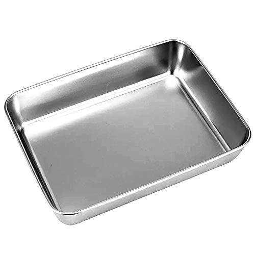 Chenxi Backblechpfanne, Jelly-Roll-Pfannen Bratpfanne, Backblech aus Edelstahl, Backblech, Antihaft-Toaster-Backblechpfannen, einfach zu reinigen und...