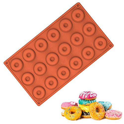 Backen Form, Mini Doughnut-Form Runde Buscuit Und Kuchen-Form für DIY Backen (18 Grids)