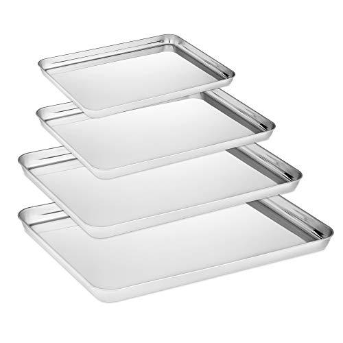 Velaze Brat- und Backblech mit Küchengitter (Backblech 4 Set BT)