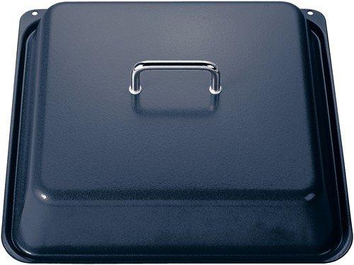 Bosch HEZ333001 Zubehör für Backöfen / Deckel für Profipfanne / Grau / für schonendes Braten großer Fleischstücke / Backofen bleibt sauber