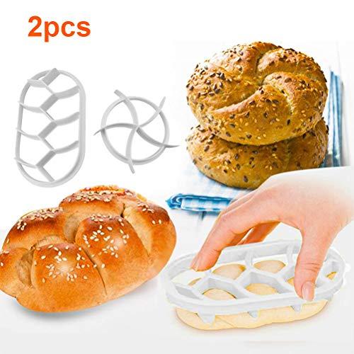 Kunststoff Ausstecher Teig Keks Presse Brötchen Backform, Plastikgebäck-Schneider-Teig-Plätzchen Drückten Selbst Gemachtes Brötchen-Form