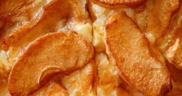 Apfelkuchen vom Blech - kann niemand widerstehen