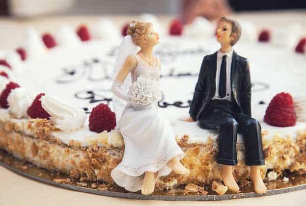 Hochzeitstorte - von einfach bis pompös - mit dem Backratgeber kein Problem