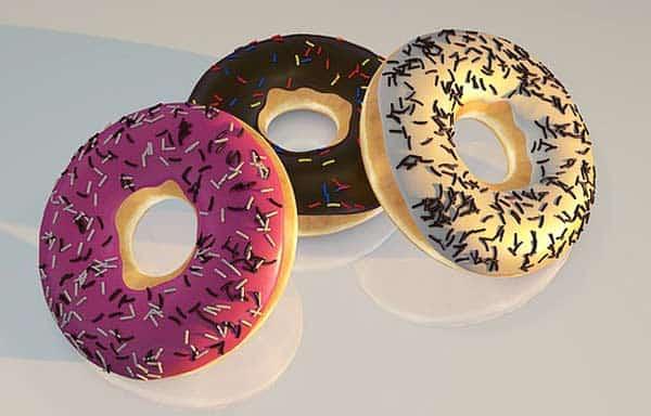 Mit einem Donutmaker lassen sich verschiedene Donutvarianten selber machen